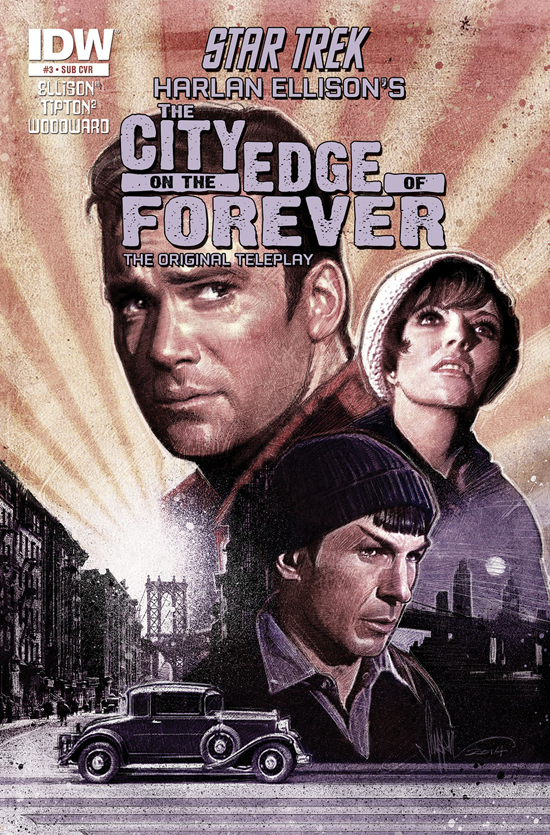 Review Idw Returns To Future S Past In The City On The Edge Of Forever Borg