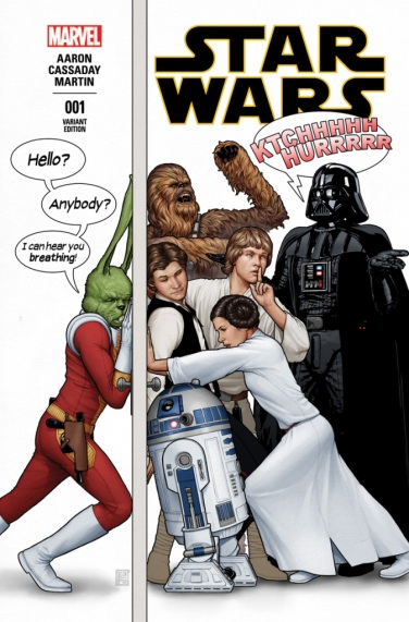 Star Wars #1 cover variant