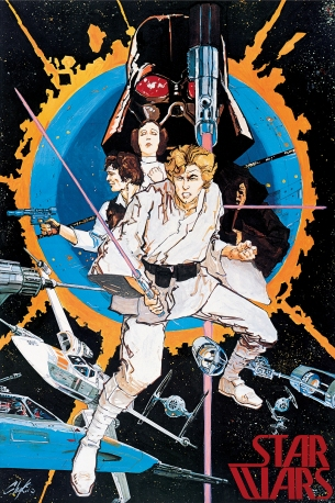 Star Wars original Chaykin poster