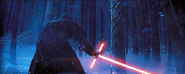 Star Wars VII new lightsaber