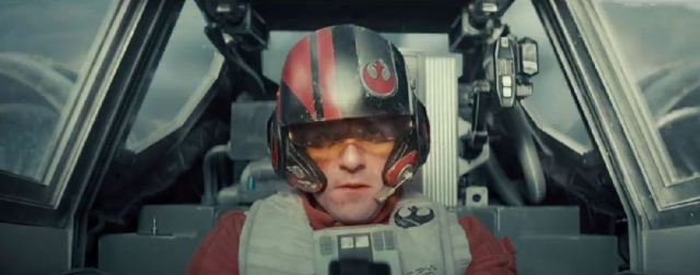 Star Wars VII X-wing pilot