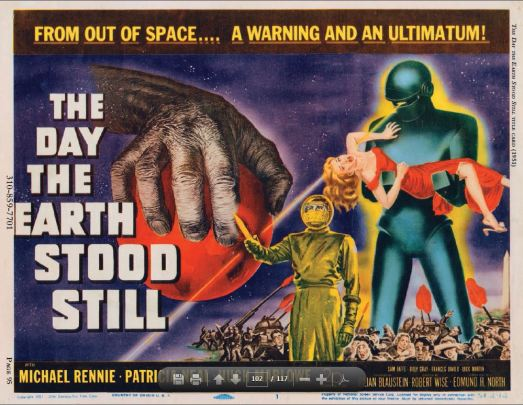 The Day the Earth Stood Still lobby card