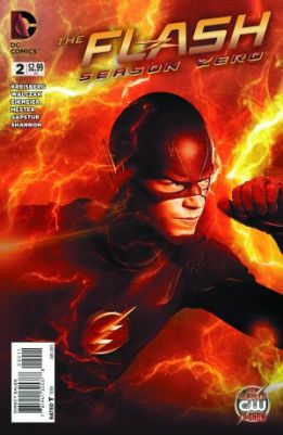 The Flash Season Zero issue 2 cover
