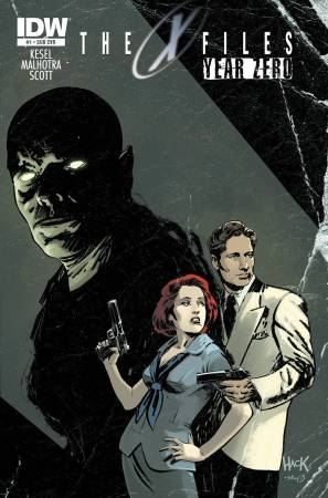 X-Files pulp cover