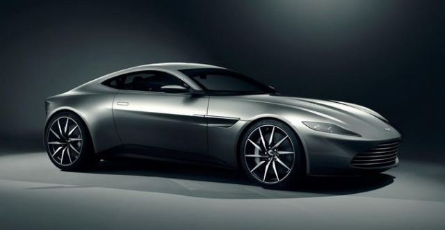 Aston Martin DB10 - New Bondmobile