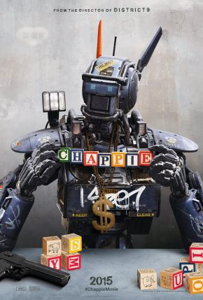 Chappie movie poster A
