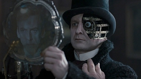 Deep Breath Doctor Who Hlf Face Clockwork man