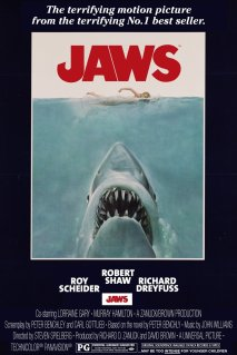 Jaws movie poster A