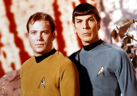 Kirk and Spock tunics