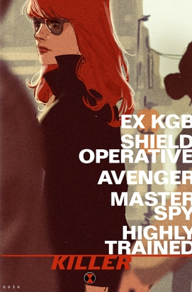 Noto Black Widow promo poster