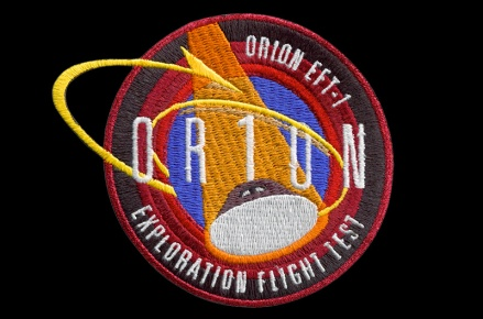 Orion mission patch
