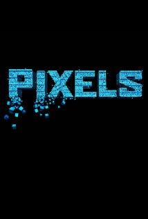 pixels movie poster