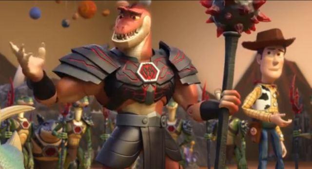 Reptillus Maximus and Woody