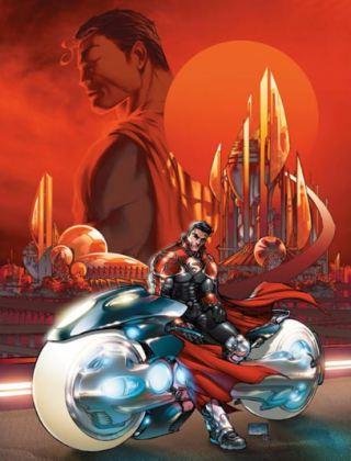 Superman 812 Michael Turner cover art