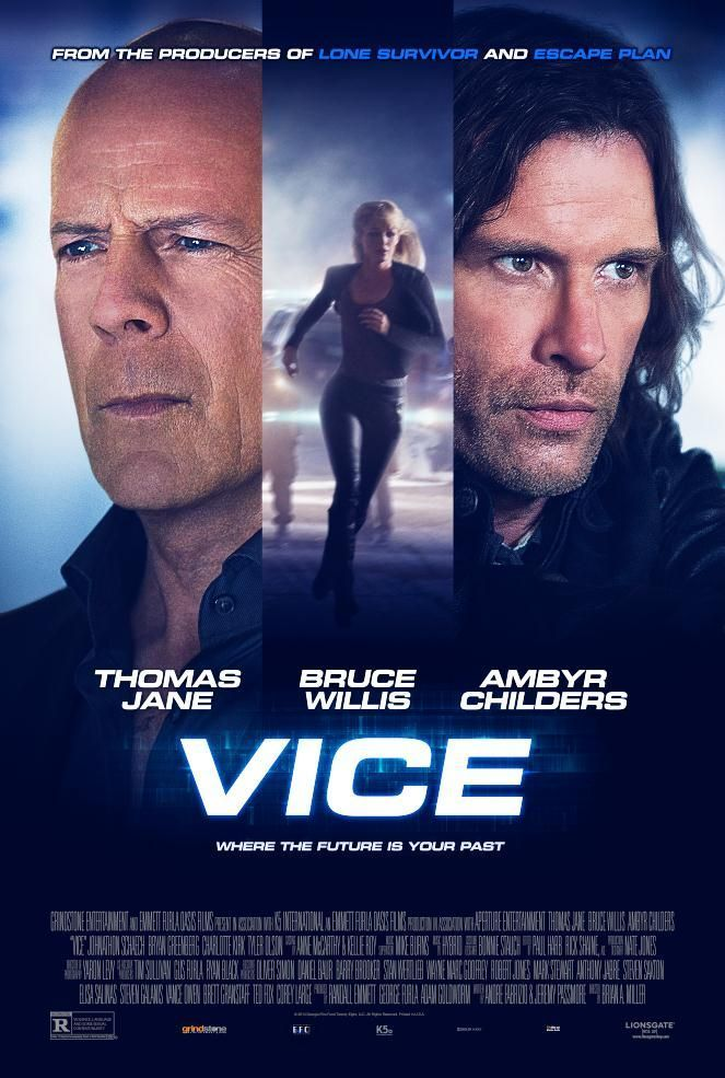 Vice movie poster Bruce Willis