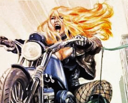 Woodward Black Canary commission close-up 2014