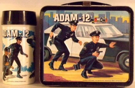 Adam-12 lunchbox