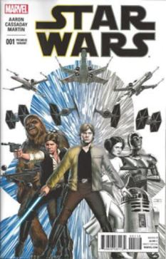 B&W launch party variant Star Wars 1