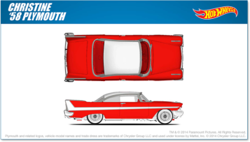 Christine Hot Wheels design
