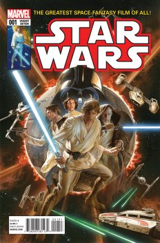 Final Alex Ross original homage Star Wars 1 variant