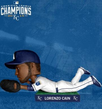 Lorenzo Cain June 6 2015 boble head giveaway ALDS