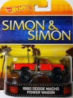 Simon & Simon Rick Hot Wheels truck