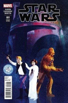 Tidewater Star Wars Issue 1 variant