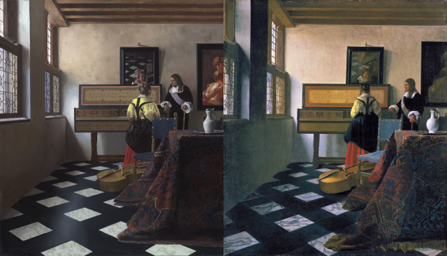 Vermeer and Jenison compared