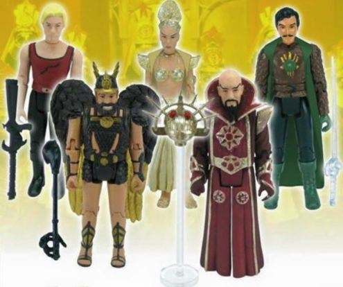 Bif Bang Pow Flash Gordon retro Kenner style line 2015 Toy Fair