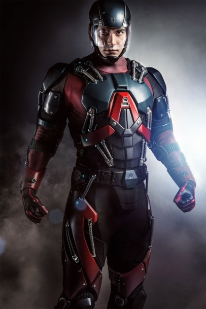 Brandon Routh Arrow as The Atom Ray Palmer February 2015