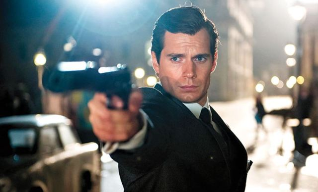Cavill as Napoleon Solo Man from UNCLE