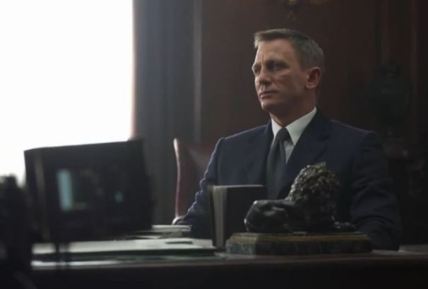 Daniel Craig is James Bond in SPECTRE
