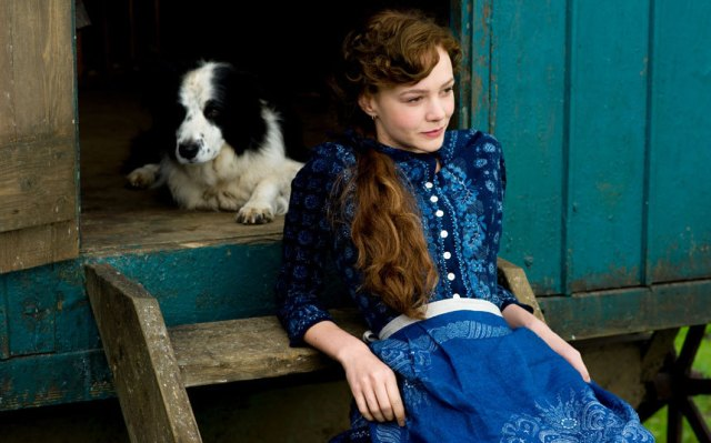 Mulligan and friend in Far from the Madding Crowd