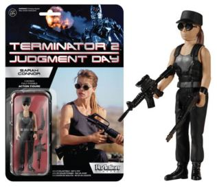 Terminator 2 Sarah Connor ReAction action figure Funko