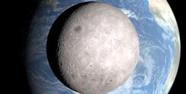 Time Lapse Dark Far Side of Moon Feb 2015 NASA