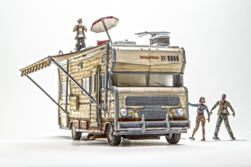 Walking Dead Toy Fair camper A 2015