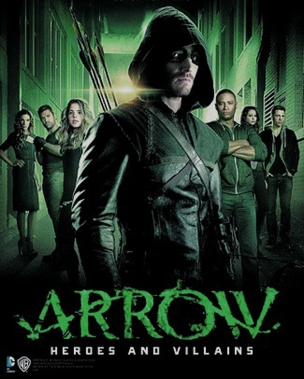 Arrow Heroes Villains cover