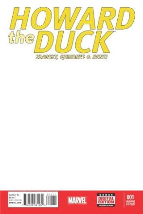Howard the Duck sketch cover