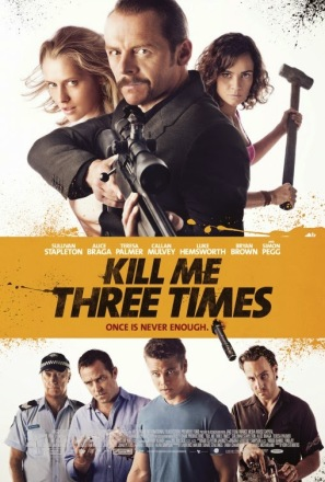 Kill Me Three Times movie poster