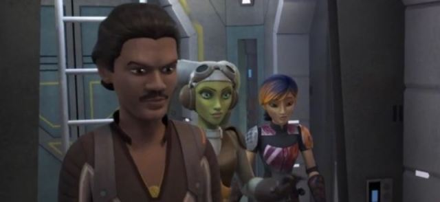 Lando in Star Wars Rebels