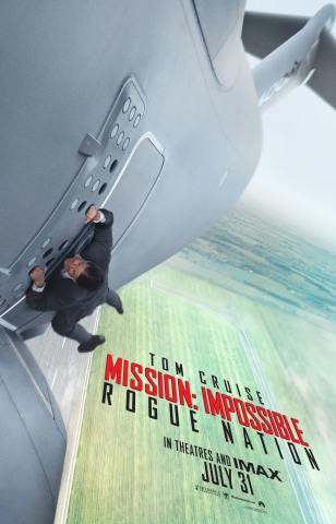 Mission Impossible 5 V Rogue Nation poster