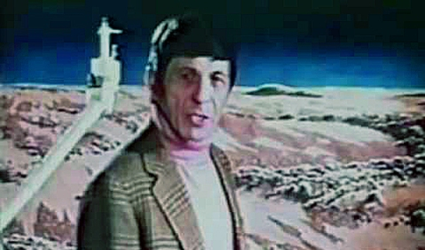 Nimoy in search of