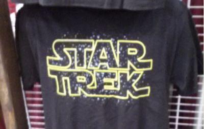 StarTrek logo shirt