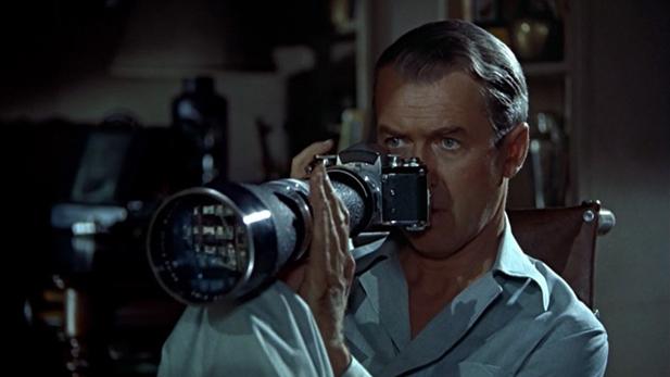 Stewart camera Rear Window