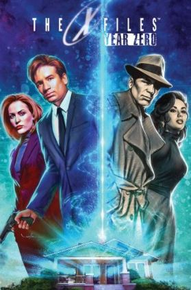 The X-Files Year Zero trade paperback