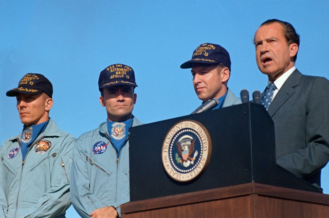 Apollo 13 and President Nixon