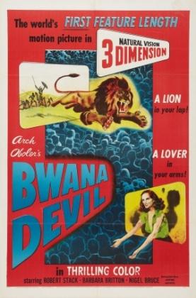 Bwana Devil A poster