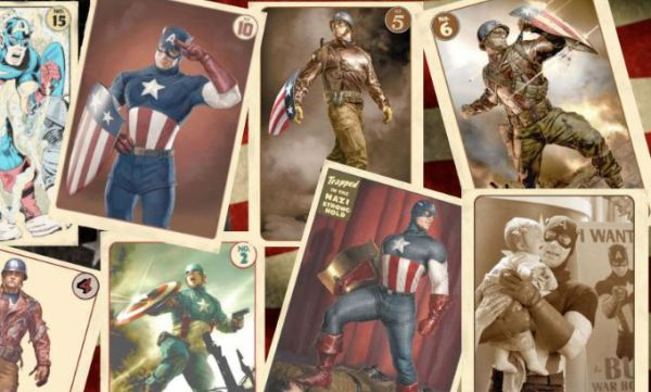 Captain America Agent Coulson cards