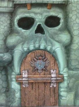 Castel Greyskull slipcase Art of He-Man