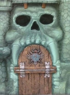 Castel Greyskull slipcase Art of He-Man